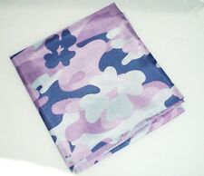 "Dance Scarf, Ladies, 24"" x 24"",  Purple Floral Camo"