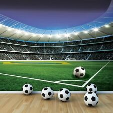giant Wall Mural photo wallpaper 368x254cm Football Stadium for boys room kids