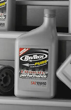 REVTECH HARLEY PURE ADVANCED MOTORCYCLE OIL CASE 12 QUARTS SAE 60