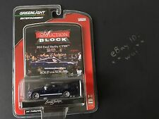 1:64 Greenlight Auction Block 2009 2010 Ford Shelby GT500 Blue Mustang gt 500