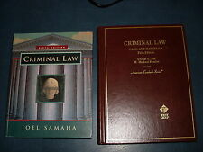 Criminal Law : Cases & Materials by DIX & SHARLOT+2 BONUS BOOKS! MUST SEE DEAL!