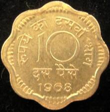 India 10 Paise 1968 BU