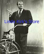 """John Reed King Promotional Photograph Game Show """"Give and Take"""" CBS-TV 1952"""