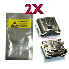 2 X New Micro USB Charging Sync Port Samsung Galaxy Tab E T560 T560NU T561USA