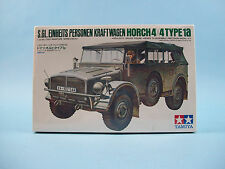 Horch 4X4 Type 1A Kraftwagen Tamiya Model Kit #35052 Sealed