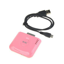 External Backup Battery Charger Portable Power for iPhone 4 4S 3G 3GS iPod Pink