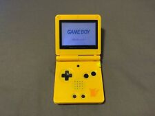 Nintendo Game Boy Advance GBA SP Advance System AGS 001 - Pikachu Edition