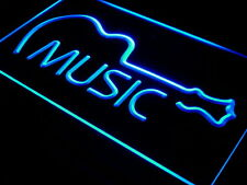 i528-b Music Guitar Display Bar Live Pub Neon Light Sign