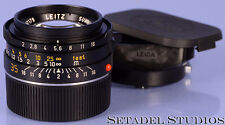 LEICA LEITZ 35MM SUMMICRON-M F2 4TH V WETZLAR M LENS W/ SHDE *KING OF BOKEH*