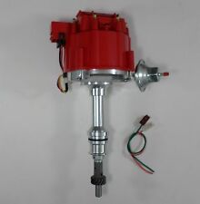 FORD 351W Windsor RED HEI Distributor w/ 65,000 HI-OUTPUT COIL & FREE PIGTAILS