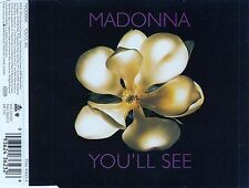 MADONNA : YOU'LL SEE / 3 TRACK-CD (MAVERICK/WARNER BROS. 1995)