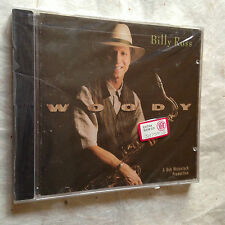 BILLY ROSS CD WOODY CONTEMPORARY CCD-14079-2 1996  JAZZ
