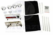 Assemblied Metal Saddlebag Hardware Latch & Lock Kit for Harley Touring FLH FLT