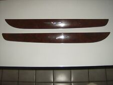2001-2006 Chrysler Sebring Convertible Wood Grained Door Trim Strips (w/ Logos)
