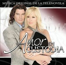 Musica de la TV Novela Amor en Custodia by Various Artists CD Only 1 Left New !