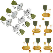 6L6R Guitar Deluxe Tuning Pegs Machine Heads for Gibson Les Paul Chrome Gold Peg
