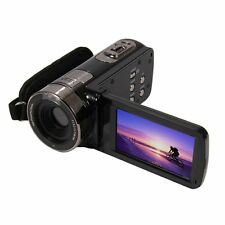 "3.0"" TFT LCD 16X Digital Zoom Video Camcorder 24MP Full HD 1080P Black DV Camera"