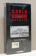 CARLO GIULIANI RAGAZZO - Genova, 20 luglio 2001 [vhs, l'espresso]