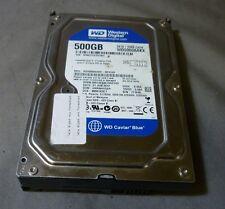 """WESTERN DIGITAL CAVIAR BLUE wd5000aakx-001ca0 3.5 """" 7.2 K SATA Hard Drive 500GB"""