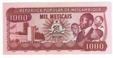 MOZAMBIQUE 1000 METICAIS 1989 UNC FDS  UNCIRCULATED  (7)