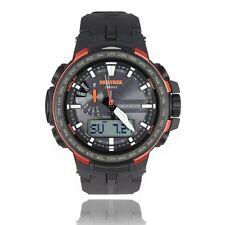 Acción Casio prw-6100y-1er Pro Trek solar radio reloj nuevo y original