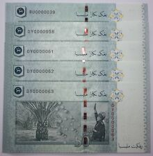 (PL) RM 50 BU 0000039 UNC 1 PIECE ONLY 5 ZERO RARE NICE FANCY & LOW NUMBER PAPER