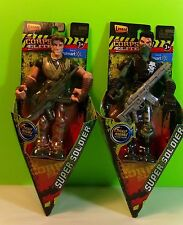 The Elite Corps Super Soldiers Dynamite And Slash Action Figures New Gift