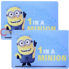 Despicable Me Minions Dining Placemat 2pc Set - 1 in a Minion