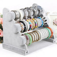 3-Tier Bar Bracelet Watch Table Jewelry Organizer Holder Rack Stand Display  T
