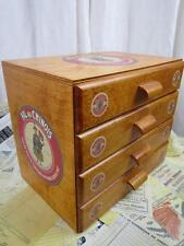 Sajou Fil au Chinios Wooden Haberdashery Chest Sewing Box 4- Drawers