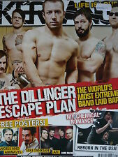 KERRANG 1184 - DILLINGER ESCAPE PLAN - ENTER SHIKARI - MY CHEMICAL ROMANCE