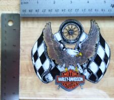 Harley-Davidson Racing Eagle Inside Window Sticker. Vintage Harley Sticker NOS
