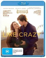 """Like Crazy"" (Blu-ray, 2012) - As New Condition"