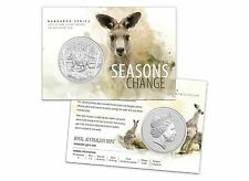 2016 $1 Fine Silver Frosted Uncirculated Coin – Perth Mint Kangaroo Series
