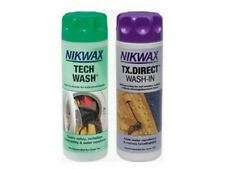 NIKWAX TECH WASH/TX DIRECT CLEAN & PROOF TWIN PACK (300ML)