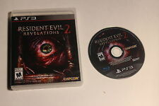 Playstation 3 PS3 - Resident Evil Revelations 2 - NO MANUAL