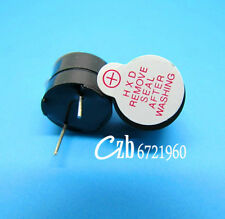 10Pcs Active Buzzer 12mm 3V Magnetic Long Continous Beep Tone Alarm Ringer