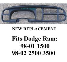 Dodge Ram Dash Bezel radio dashboard instrument cluster gauge trim Replacement b