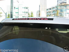Land Range Rover HSE Sport 3rd brake light decal overlay 2010 2011 2012