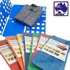 Flip Fold Magic Clothes Shirts Folder Organizer Laundry Child Adult 2 Size HFOLD