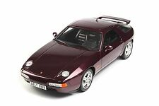 GT Spirit 1992 Porsche 928 GTS Burgundy Color LE of 500**Super Rare!