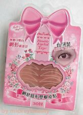 TAIWAN Belle Madame Mesh Type Natural Invisible Double Eyelid Tape 60pcs W/Glue