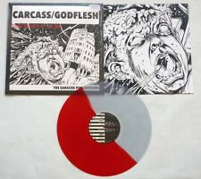 "Carcass / Godflesh ""The Earache Peel Sessions"" Wound (Not Wound) Red/Clear Vinyl"
