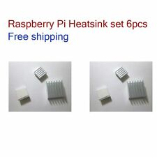 Heatsink x 6pcs Cooling Raspberry Pi 3, 2, A+, B, B+