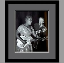 Sister Rosetta Tharpe Framed & Double Matted Photo LIPF