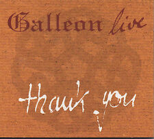 Galleon Live Thank You CD NEU Good Evening Friends Leaving of Liverpool Red Rose