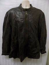 MARC NEW YORK ANDREW MARC Men's Gray Leather Jacket Size 2XL
