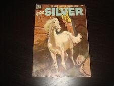 HI-YO, SILVER #12  Lone Ranger  Western Cowboy  Silver Age Dell Comics 1954 FN+