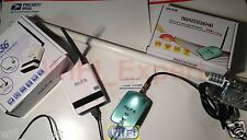 WiFi 8dBi Fiberglass Ant+ ALFA R36 + N Netw High Speed Booster GET FREE INTERNET