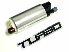 WALBRO 255LPH FUEL PUMP W/ INSTALL KIT FOR SUBARU WRX STI + FREE TURBO EMBLEM